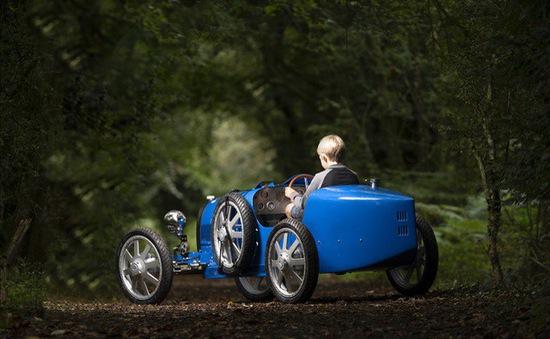 Bugatti Baby II - Xe chạy điện của con nhà giàu