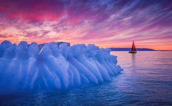 Chiêm ngưỡng vẻ đẹp băng giá ở Greenland