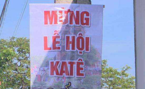 Bắt đầu Lễ hội Katê Ninh Thuận 2019
