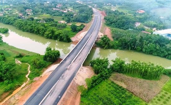 Cao tốc Bắc Giang - Lạng Sơn chuẩn bị thông xe kỹ thuật