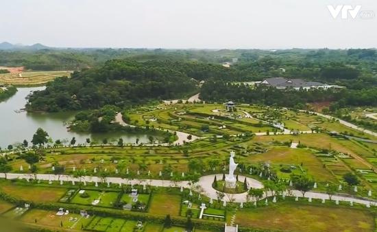 """""""Cò"""" mộ tư vấn khách hàng đầu tư kiếm lãi từ đất nghĩa trang"""