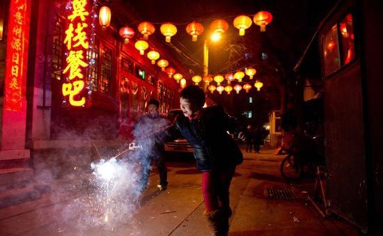 Trung Quốc cấm đốt pháo tự phát dịp Quốc khánh