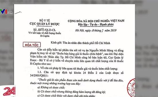 Cục Quản lý Dược gửi công văn hỏa tốc đến phiên tòa xử VN Pharma