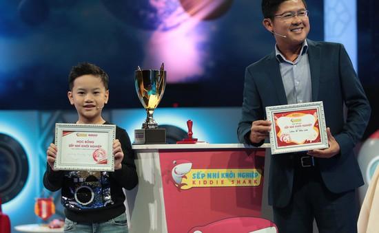 Shark Dzung rót 50 triệu đồng cho dự án của con trai MC Hồng Phúc