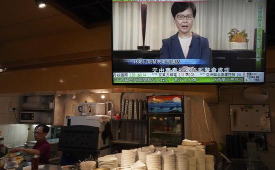 Hong Kong có thể rút lại dự luật dẫn độ