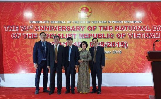 Tổng lãnh sự Việt Nam tại Preah Sihanuok Campuchia mừng Quốc khánh