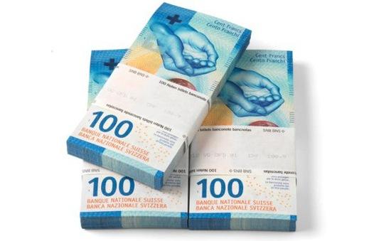 Thụy Sĩ sắp phát hành tờ tiền giấy mệnh giá 100 Franc mới