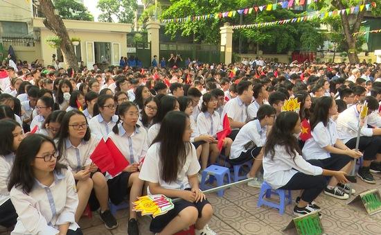 Không khí trước lễ khai giảng năm học mới