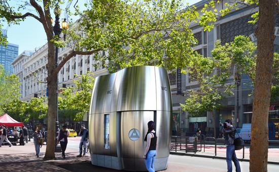 Mô hình nhà vệ sinh công cộng tương lai