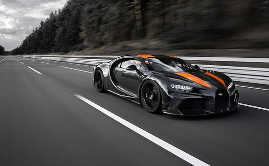 Siêu xe Bugatti Chiron phiên bản đặc biệt lập kỷ lục về tốc độ