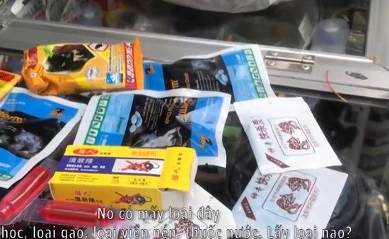 Thuốc diệt chuột được bán tràn lan trên thị trường
