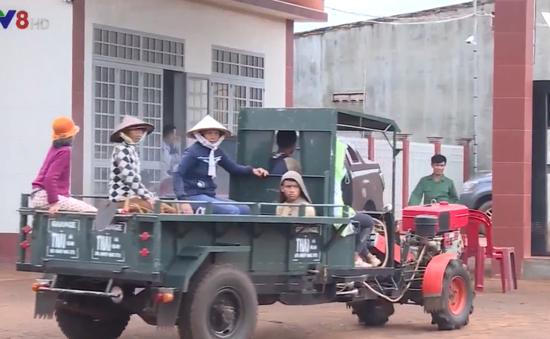 Gia Lai tăng cường kiểm soát phương tiện xe công nông