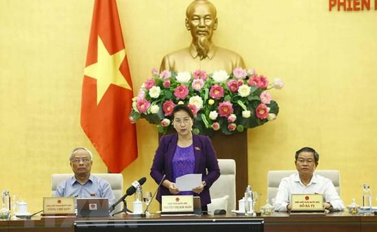 Hôm nay (9/9), khai mạc Phiên họp thứ 37 Ủy ban Thường vụ Quốc hội