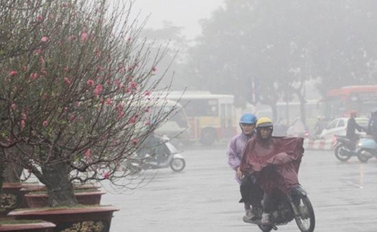 Bắc Bộ trời tiếp tục rét, Trung Bộ có mưa vừa, mưa to và dông