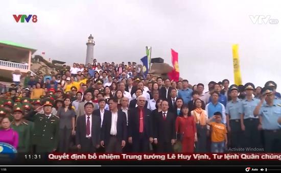 Chào cờ đầu năm ở điểm cực Đông trên đất liền Việt Nam