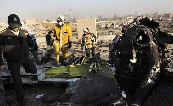 Danh tính nạn nhân vụ rơi máy bay tại Iran