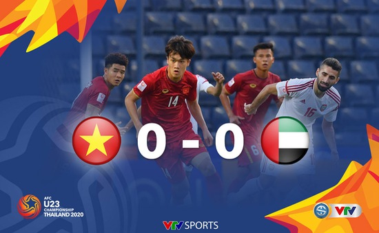 VIDEO Highlights: U23 Việt Nam 0-0 U23 UAE (Bảng D VCK U23 châu Á 2020)