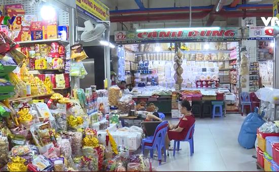Cận Tết nhưng sức mua ở các chợ tại TP Nha Trang vẫn trầm lắng