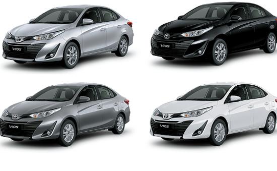 10 mẫu ô tô bán chạy nhất thị trường Việt Nam năm 2019