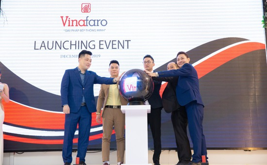 Vinafaro ra mắt 2 dòng sản phẩm bếp Libra và Virgo