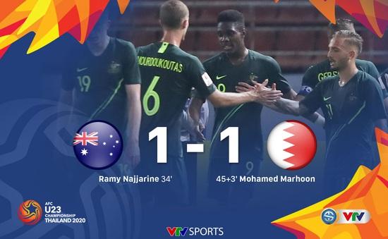 HIGHLIGHTS: U23 Australia 1-1 U23 Bahrain (Bảng A VCK U23 châu Á 2020)