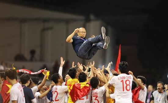 Cúp Chiến thắng 2019: HLV Park Hang-seo và ĐT U22 Việt Nam thắng lớn