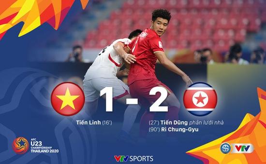 VIDEO Highlights: U23 Việt Nam 1–2 U23 CHDCND Triều Tiên (Bảng D VCK U23 châu Á 2020)