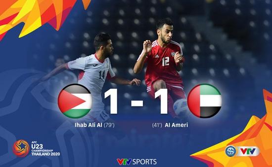 VIDEO Highlights: U23 Jordan 1-1 U23 UAE (Bảng D VCK U23 châu Á 2020)