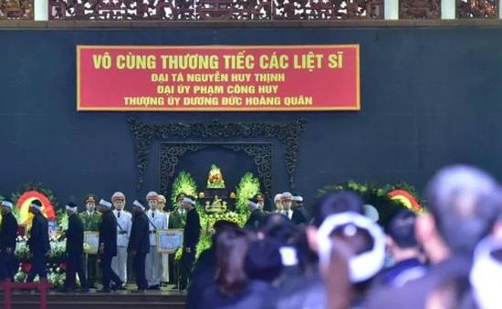 Lễ tang 3 chiến sỹ hy sinh tại Đồng Tâm