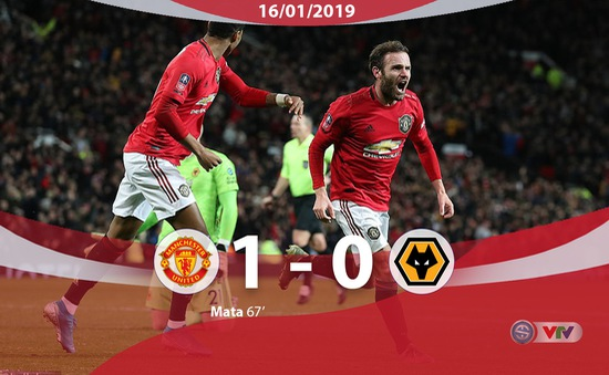 Man Utd 1-0 Wolverhampton: Mata tỏa sáng
