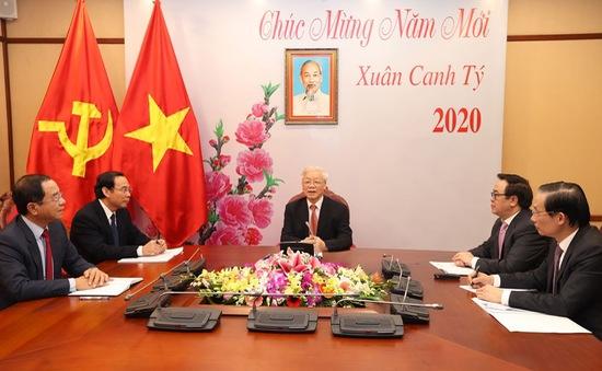 TBT, Chủ tịch nước Nguyễn Phú Trọng điện đàm với TBT, Chủ tịch nước Trung Quốc Tập Cận Bình