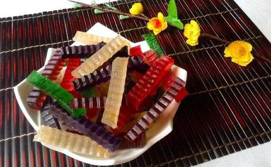 Tết thêm tròn vị với món mứt rau câu đầy màu sắc