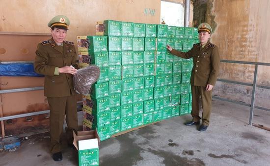 Lạng Sơn tạm giữ 400kg hạt hướng dương không có hóa đơn chứng từ