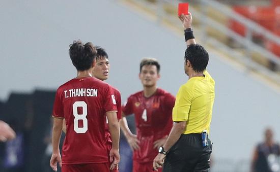 Đình Trọng bị treo giò tại vòng loại World Cup 2022 vì thẻ đỏ ở trận gặp U23 CHDCND Triều Tiên