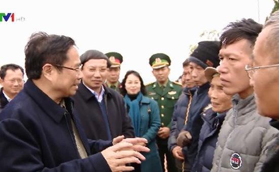 Trưởng ban Tổ chức Trung ương thăm và chúc Tết nhân dân huyện đảo Cô Tô