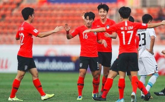 Lịch thi đấu và trực tiếp tứ kết U23 châu Á 2020 hôm nay (19/1): U23 Hàn Quốc - U23 Jordan, U23 UAE - U23 Uzbekistan