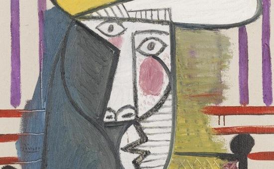 Bức họa 20 triệu Bảng của Picasso bị phá hoại