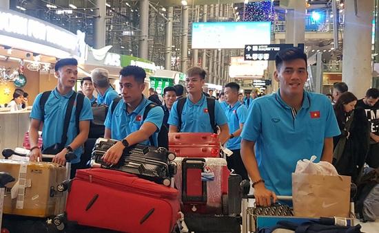 U23 Việt Nam đã có mặt tại Thái Lan, chính thức bước vào chiến dịch VCK U23 châu Á 2020