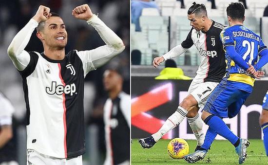 Juventus 2-1 Parma: Ronaldo tỏa sáng