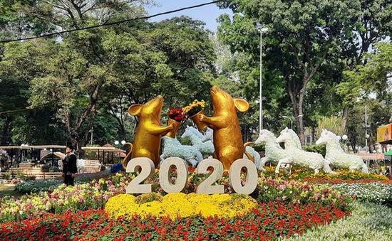 Khai mạc Hội hoa Xuân TP.HCM Canh Tý 2020