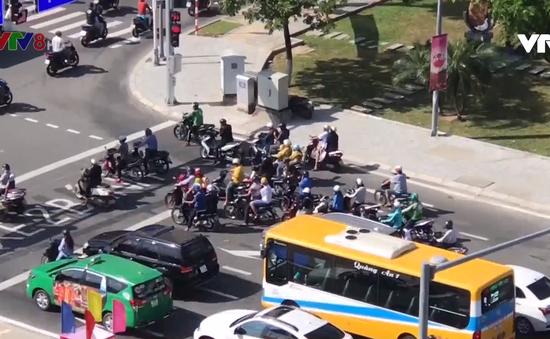 Đà Nẵng: Hôm nay bắt đầu phân luồng giao thông trước Bảo tàng Chăm