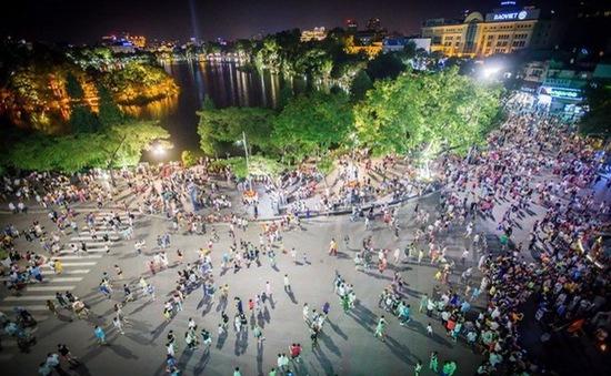 Hà Nội: Phố đi bộ Hồ Gươm được hoạt động trở lại từ ngày 18/9