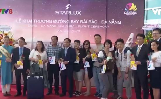 Đà Nẵng: Đón chuyến bay Đài Bắc - Đà Nẵng
