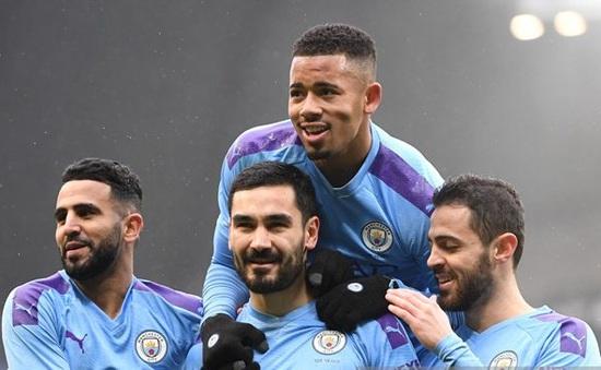 """""""Hủy diệt"""" đối thủ, Man City nhẹ nhàng giành vé vòng 5 FA Cup"""