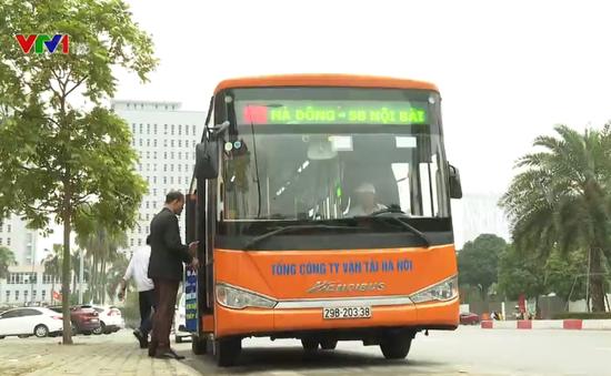 """Mở rộng độ """"phủ sóng"""" mạng lưới xe bus thủ đô"""