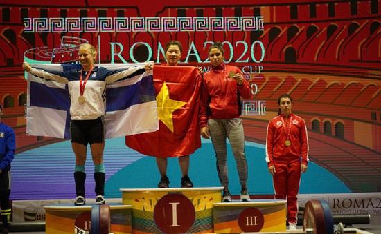 World Cup cử tạ thế giới Roma 2020: Việt Nam giành 10 HCV
