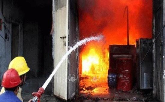 Cháy nhà máy sản xuất nước hoa ở Pakistan, ít nhất 11 người thiệt mạng