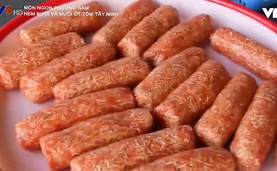 Nem bưởi - Món chay hấp dẫn của Tây Ninh