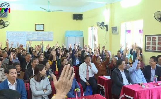 Quảng Ninh đồng loạt bầu trưởng thôn, khu phố