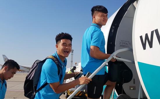 ĐT U23 Việt Nam đã có mặt tại Buriram, sẵn sàng cho VCK U23 châu Á 2020